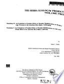 Sierra Ecology Project