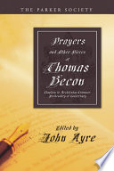 Prayers and Other Pieces of Thomas Becon