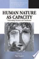 Human Nature as Capacity Book