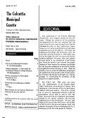 Calcutta Municipal Gazette