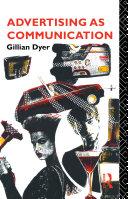 Pdf Advertising as Communication Telecharger