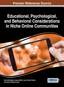 Educational, Psychological, and Behavioral Considerations in Niche Online Communities Pdf/ePub eBook
