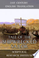 Tale of the Shipwrecked Sailor