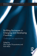 Building Businesses in Emerging and Developing Countries
