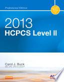2013 HCPCS Level II Professional Edition    E Book