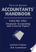 Accountants  Handbook  Financial Accounting and General Topics Book