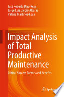 Impact Analysis Of Total Productive Maintenance Book PDF