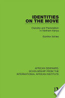 Identities on the Move Book