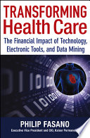 Transforming Health Care Book