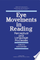 Eye Movements in Reading Book