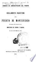 Reglamento marítimo del puerto de Montevideo