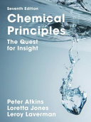 Chemical principles : the quest for insight.