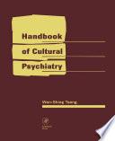 Handbook of Cultural Psychiatry