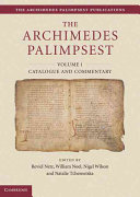 """""""The"""" Archimedes Palimpsest"""