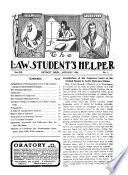 The Law Student's Helper