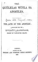 Yik̲ā qāyīlelas wūtla sa Apostles