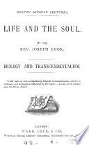 Life And The Soul Biology And Transcendentalism 2 Lects  Book PDF
