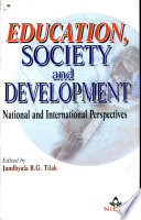Education  Society  and Development