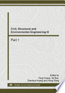 Civil  Structural and Environmental Engineering III