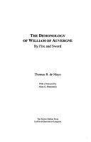 The Demonology of William of Auvergne