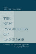 The New Psychology of Language [Pdf/ePub] eBook