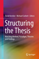 Structuring the Thesis Pdf/ePub eBook