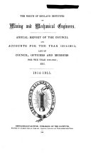 Annual Report of the Council and Accounts for the Year