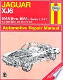 Jaguar XJ6 1968 thru 1986