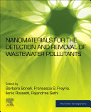 Nanomaterials for the Detection and Removal of Wastewater Pollutants
