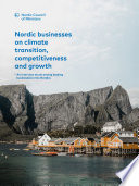 Nordic businesses on climate transition  competitiveness and growth