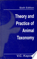 Theory And Practice Of Animal Taxonomy, 6/E