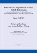 International yearbook for Tillich research