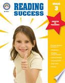 Reading Success  Grade 3