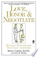Love Honor and Negotiate
