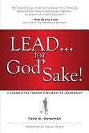 Lead for God s Sake  Book