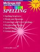 Spectrum Spelling Workbook Grade 1