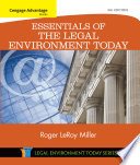 Cengage Advantage Books Essentials Of The Legal Environment Today