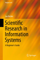 Scientific Research in Information Systems