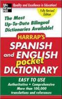 Harrap s Spanish and English Pocket Dictionary
