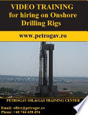 Video training for hiring on onshore drilling rigs