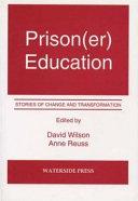 Prison(er) Education [Pdf/ePub] eBook
