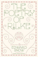 Pdf The Poetry of Rilke Telecharger