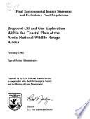 Arctic National Wildlife Refuge Part 1 [Pdf/ePub] eBook