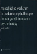 Human growth in modern psychotherapy