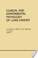 Clinical And Experimental Pathology Of Lung Cancer Book PDF