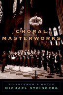 Choral Masterworks Pdf