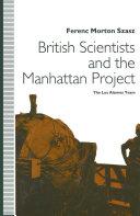 British Scientists and the Manhattan Project Pdf/ePub eBook