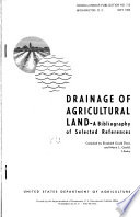 Drainage of Agricultural Land