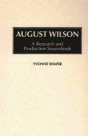 August Wilson Book PDF