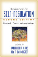 Handbook of Self Regulation  Second Edition